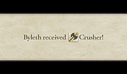 Paralogue Battle Rewards Hero