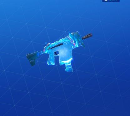 FRACTAL ZERO Wrap - Submachine Gun