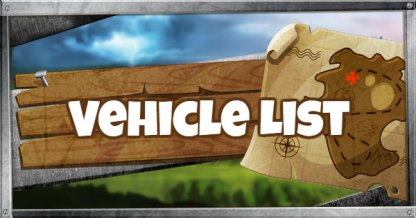 Vehicle List