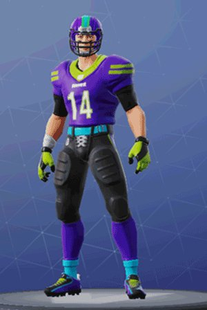 Skin Outfit END ZONE
