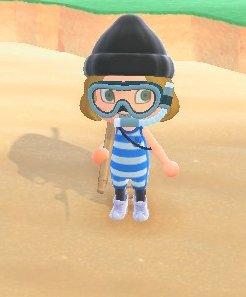 Blue Wetsuit