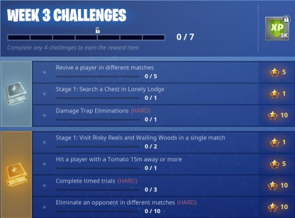 Season 6 Week 3 Challenge Overview