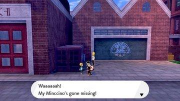 Help the Boy Find Minccino in Motostoke