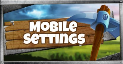 Mobile Settings