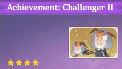 Complete To Get Achievement: Challenger II Namecard