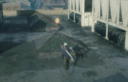 Devil May Cry 5 Gold Orb Location Mission 3 Top Of Roof