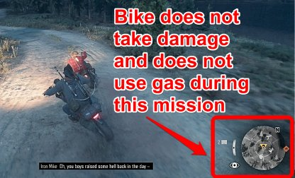 No Need To Worry About Gas & Bike Condition