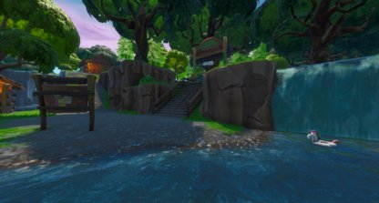 Lonely Lodge close up