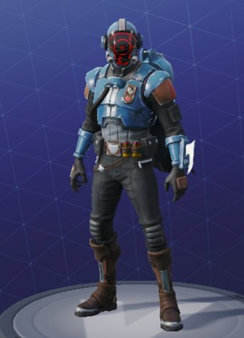 Skin Outfit THE VISITOR