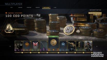 COD Points Reward