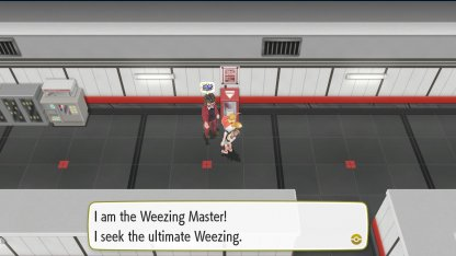 Weezing Master Trainer