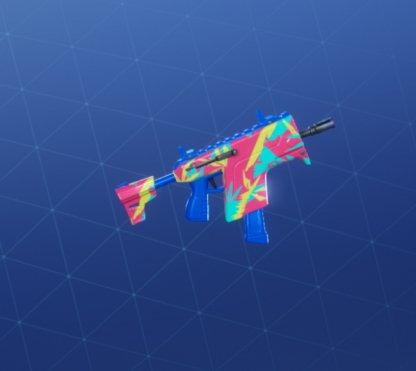 NEON TROPICS Wrap - Submachine Gun