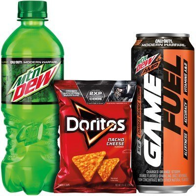 Get X2 EXP Codes From Mountain Dew & Doritos Event