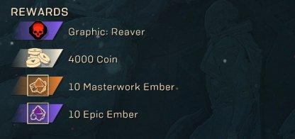Challenge of Valor Rewards