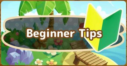 Beginner Tips