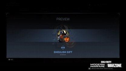 Ghoulish Gift (Rare)