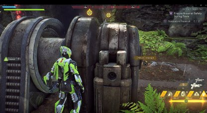 Anthem Stay Behind Generator To Avoid Enemy Fire