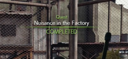 Nuisance In the Factory