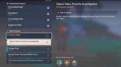 Tatara Tales: Priority Investigation Guide & Rewards