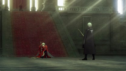 Byleth and Edelgard Duel