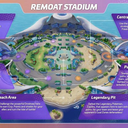 Remoat Stadium - Map & Wild Pokemon Guide