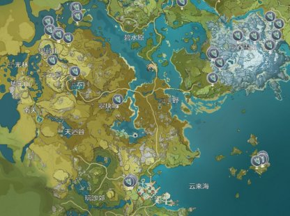 All Crystal Core Locations In Liyue