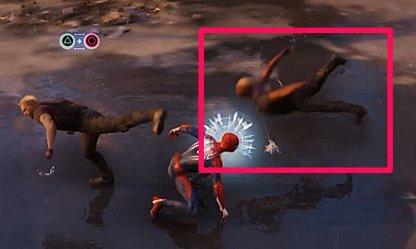 Spider-Man PS4 Trip Mine