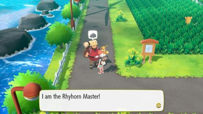 Rhyhorn Stats Moves Evolution Locations Pokemon Lets Go