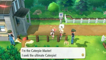 Caterpie Master Trainer
