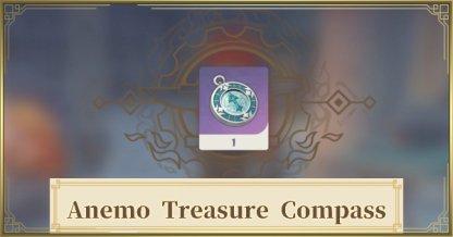 Anemo Treasure Compass