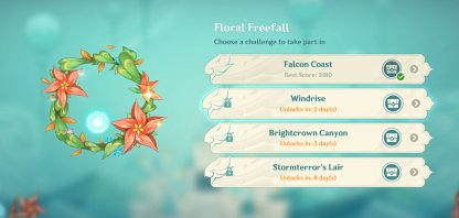 Floral Freefall - Event Details