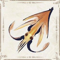 Yellow Lampsquid