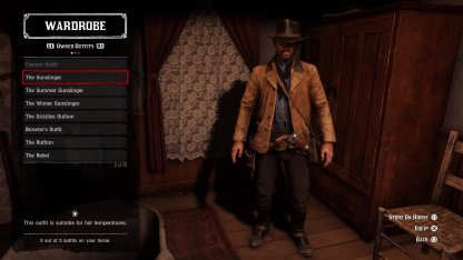 Red Dead Redemption 2 - Camp Upgrades - Outfits