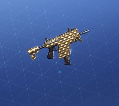 GOLDEN SCALES Wrap - Submachine Gun