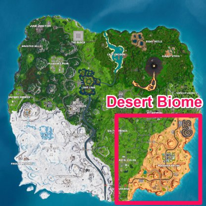 Pepper Location - Desert Biome