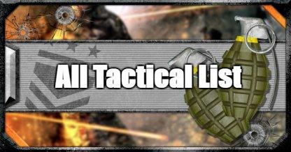 All Tacticals List