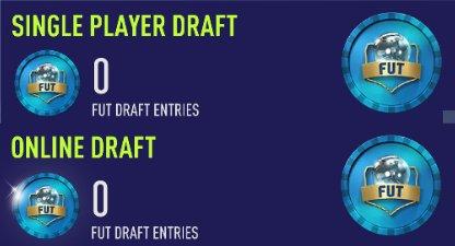 FIFA Ultimate Team FUT Draft Mode