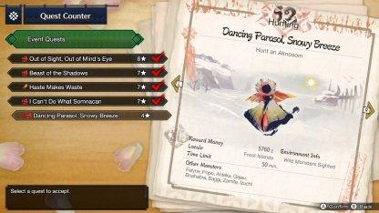 Quest - Dancing Parasol, Snowy Breeze