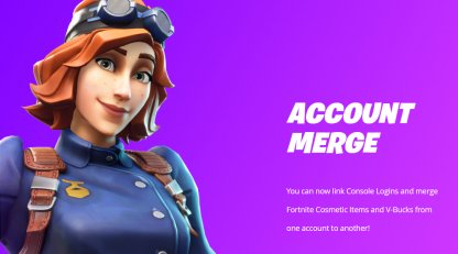 Fortnite What is Account Merging