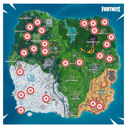 Zipline Locations