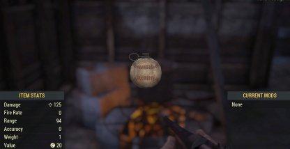 Baseball Grenade Image