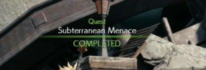 Subterranean Menace