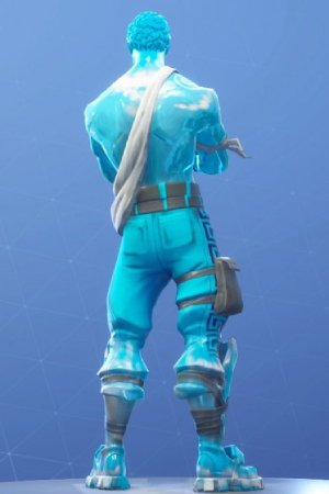 FROZEN LOVE RANGER Back