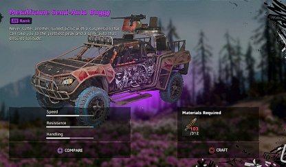 Metalframe Semi-Auto Buggy