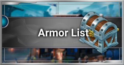 All Armor List