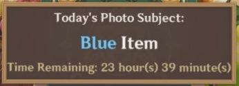 Blue Item
