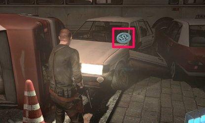 Emblem Location 2 - On Alley Car
