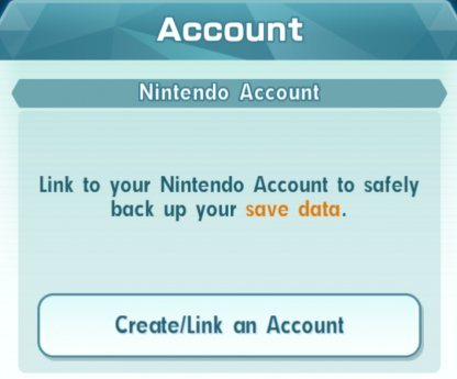 Nintendo Account Link
