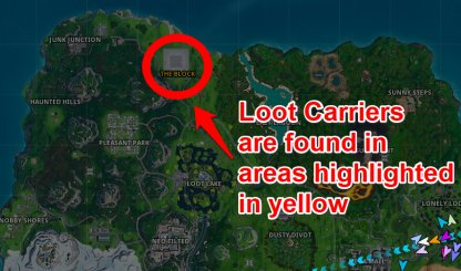 Where To Find Loot Carriers