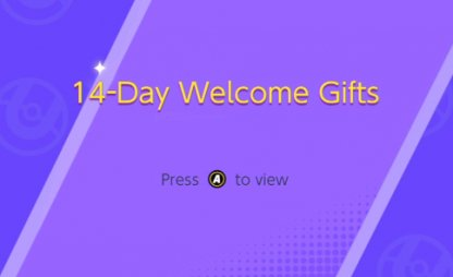 14-Day Welcome Gifts
